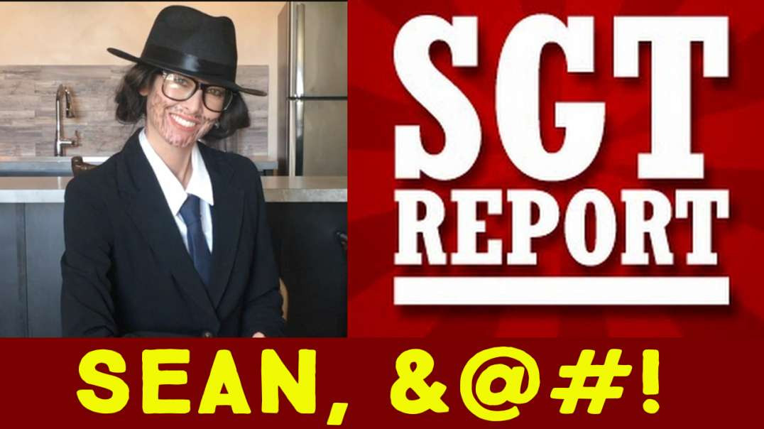 SGT Report - Sean, gotta 4-letter word for you… Hope you're sitting down!!!