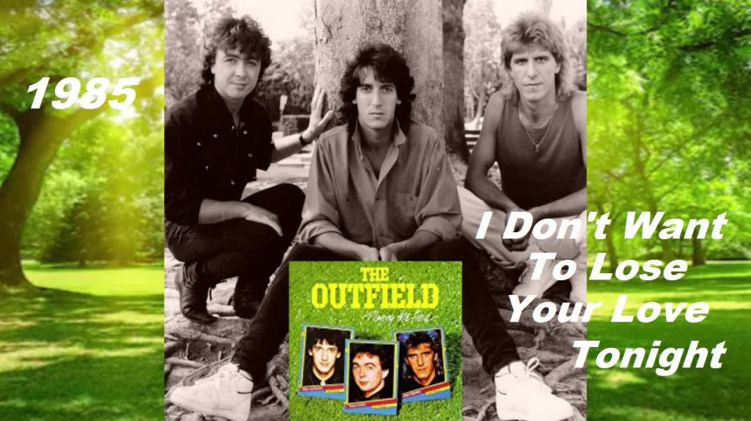 Outfield - I Dont Want Lose Your Love Tonight - (Rare German TV 1985) - Bubblerock HD