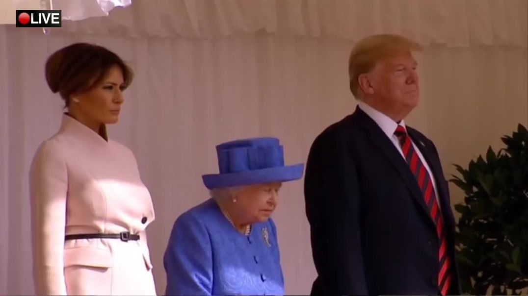 President Trump meets with Queen Elizabeth at Windsor Castle - July 13, 2018.mp4