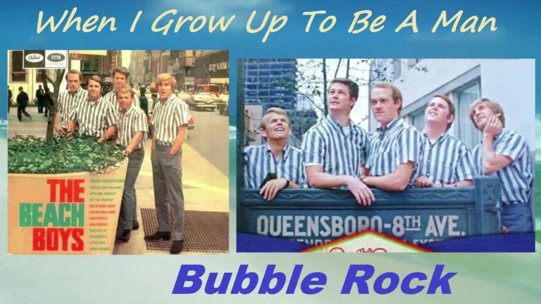 Beach Boys - When I Grow Up To be A Man - (Video Stereo Remaster - 1964) - Bubblerock - HD