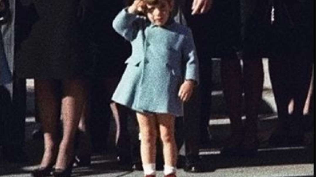 """JUAN O'SAVIN """"WE ARE ALL THAT KID STANDING ON THE SIDE OF THE STREET"""" - JFK Jr Salute"""