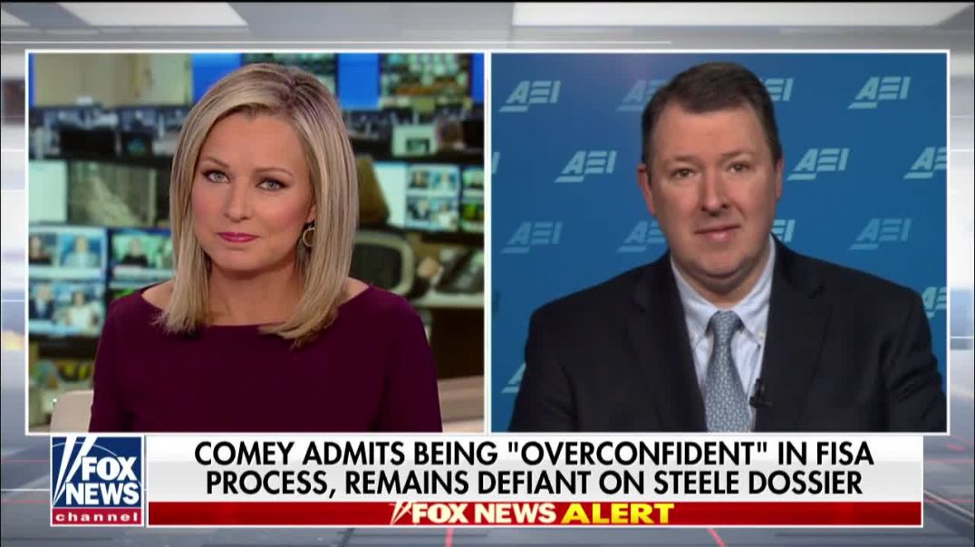 Thiessen:  Comey intentionally falsified evidence