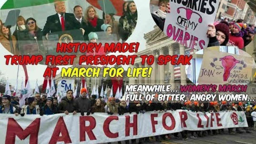History Made! 2020 March for LIFE! Trump 1st President to Speak Weekly News Round-Up 1-24-2020.mp4