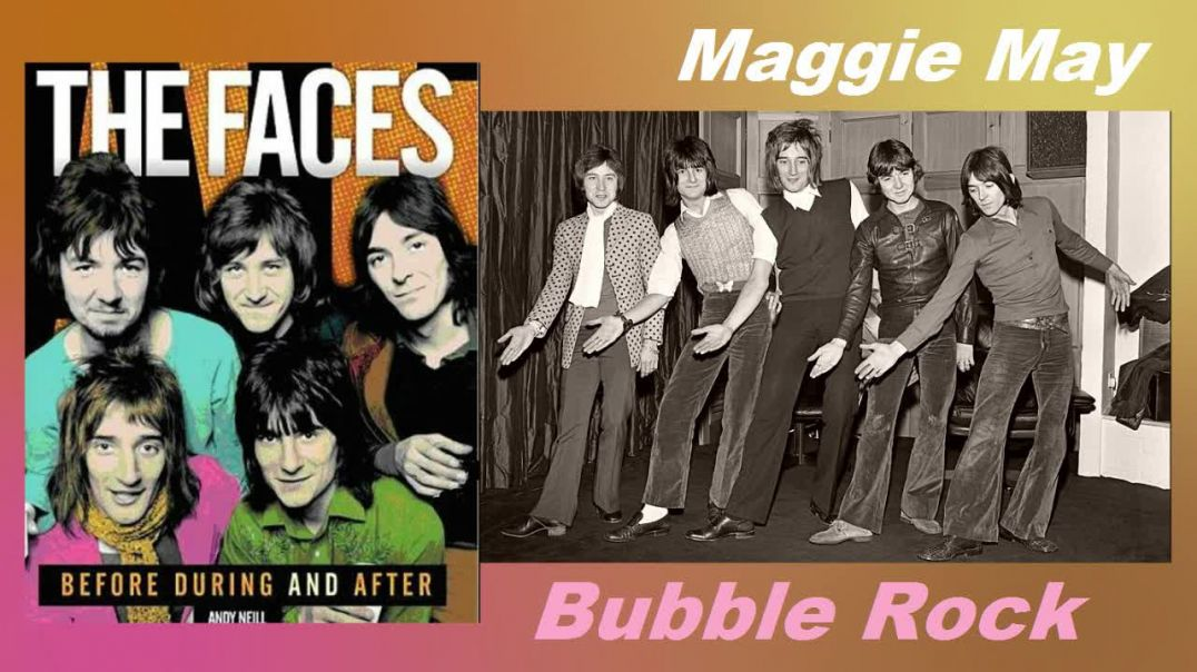 Rod Stewart and Faces - Maggie May - (Video Stereo Remaster - 1971) - Bubblerock - HD 2
