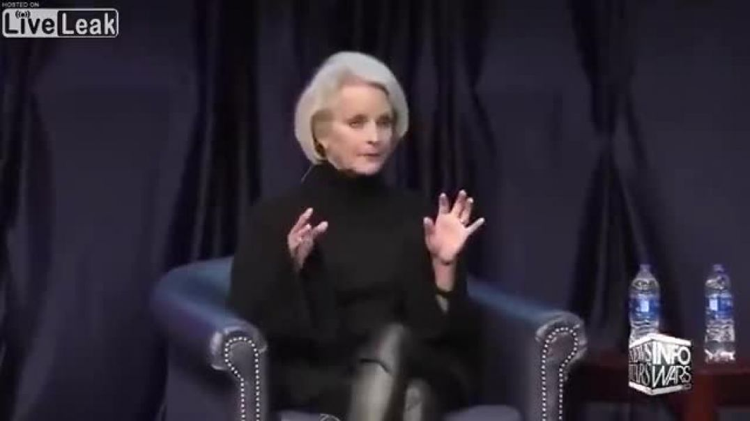 Cindy McCain: Deep State Is Going Down