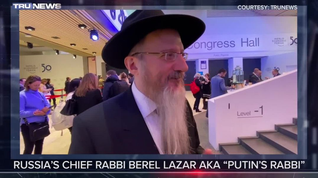 Putin's Rabbi Reveals Trump Peace Plan Details - TruNews in Davos 2020
