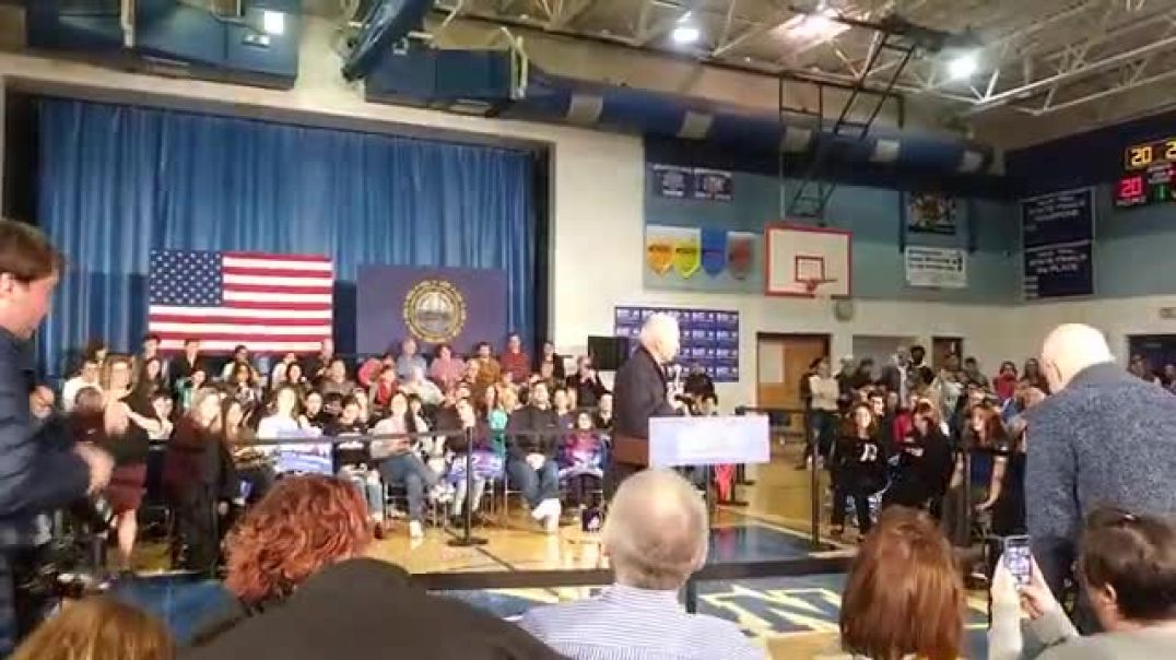 Biden: Confronted in New Hampshire