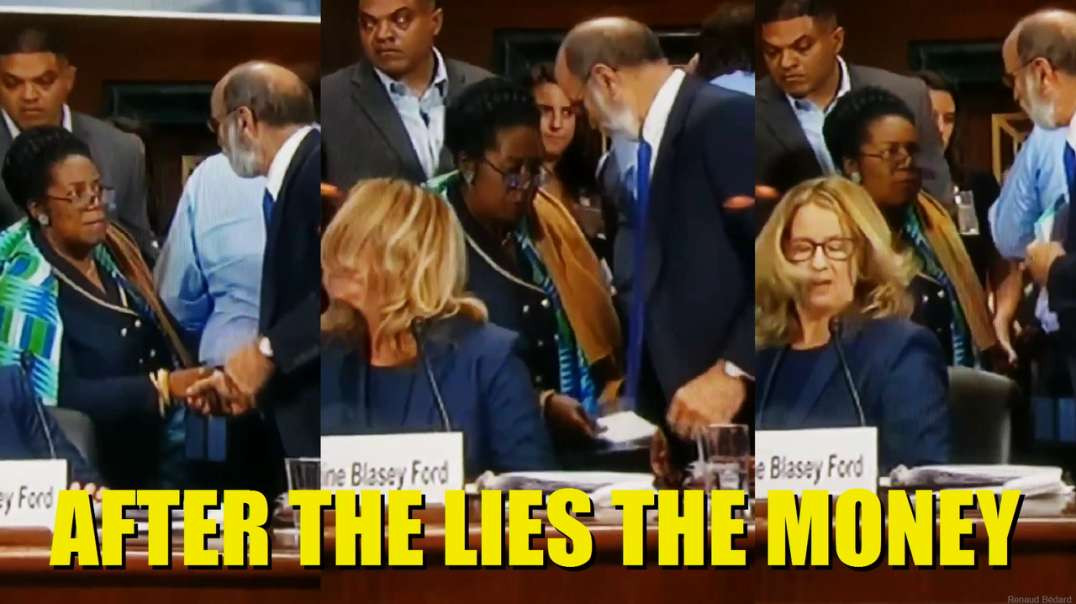 CHRISTINE FORD RECEIVES PAYOFF WITH GEORGE SOROS' MONEY AFTER HER FALSE TESTIMONY