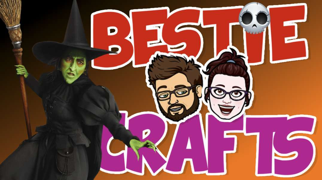 Bestie Crafts - Halloween. Make an enchanting decorated Magic Glass Block!