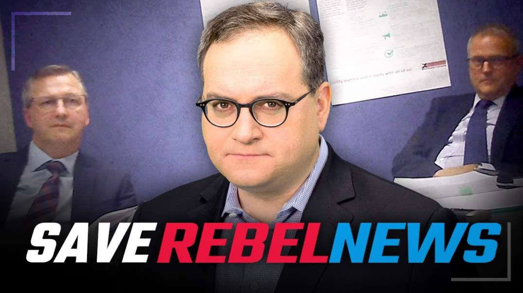 REBEL NEWS HIDDEN CAMERA OF POLICE INTERROGATION OF EZRA LEVANT OVER A BOOK ABOUT JUSTIN TRUDEAU COR