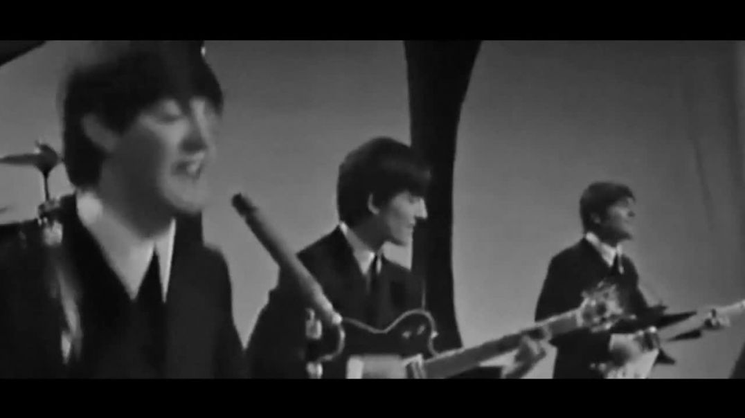 Beatles -- All My Loving - (Morecambe and Wise - 1964 Live) - GREAT COMP AUDIO and Video -