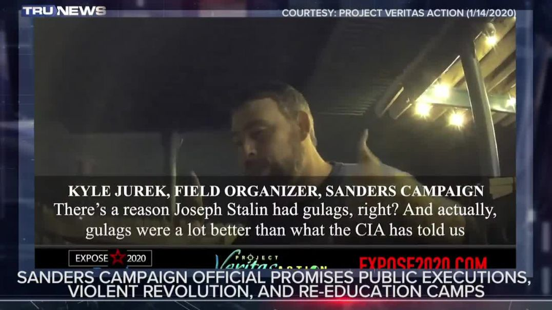 Socialist Sander's Supporters - Lock Up Trump Voters in Concentration Camps