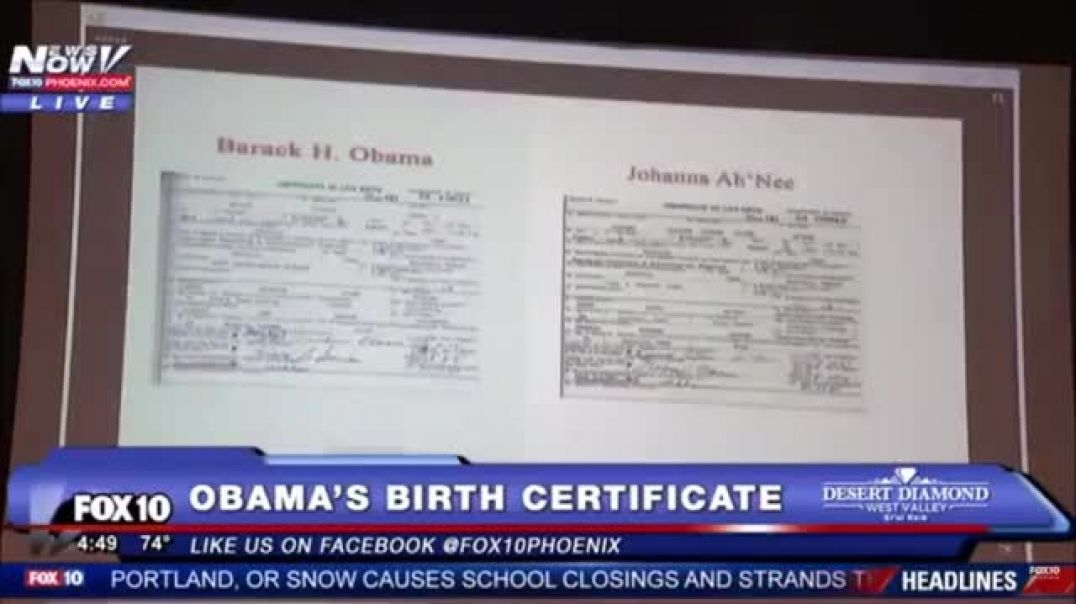 FULL Video: Proof Obama birth certificate was fake