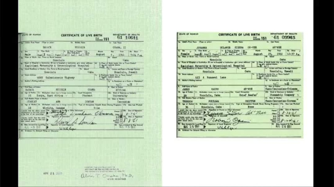 Obama's Birth Certificate Is Fraudulent