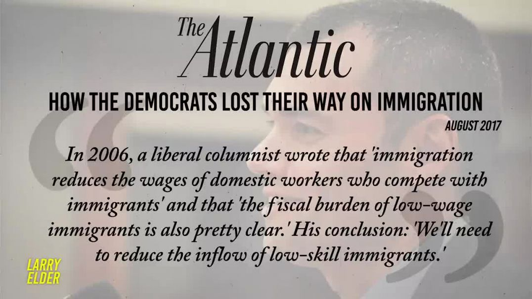 When Democrats Cared About Illegal Immigration