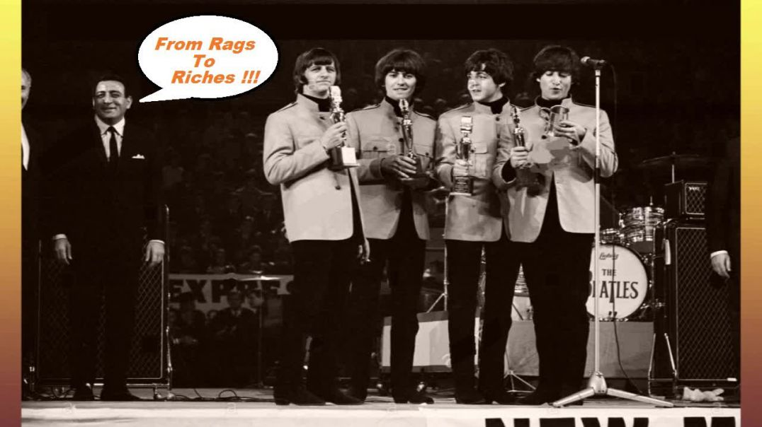 Beatles - NME Awards Concert - (Stereo Video Color Sepia Remaster - 1965) - Bubblerock HD