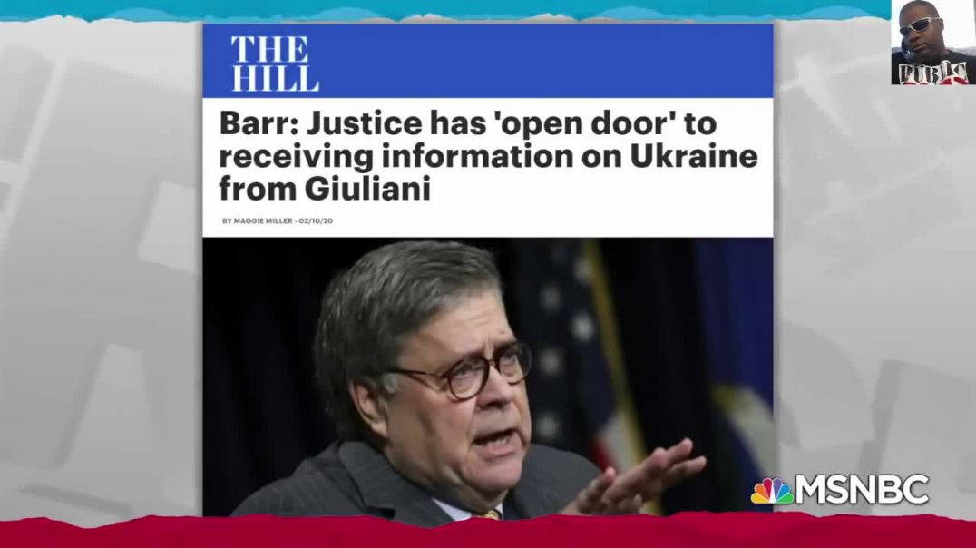 BILL BARR IS A BUSY BODY! THE LEFT IN CHAOS AS AG ACCEPTS GIULIANI'S UKRAINE FILE! POMPEO'