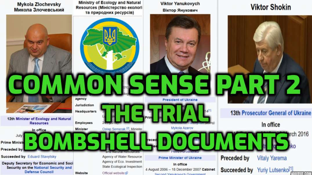 Rudy Giuliani Common Sense EP. 2 The Trial: Opening Statement | Bombshell Documents