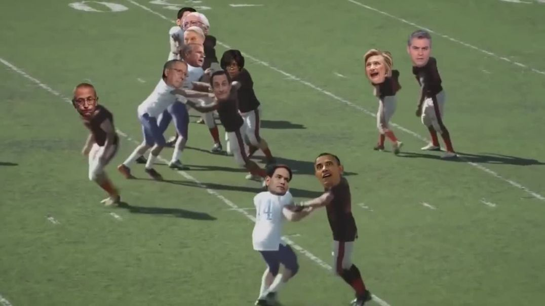 Little Hillary Takes the Football (Commentary)