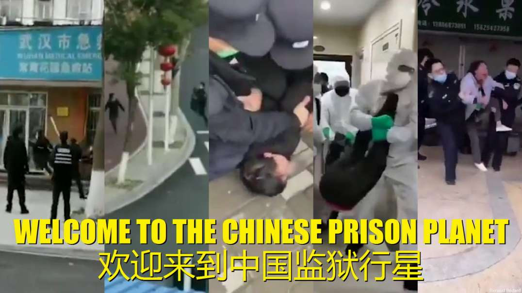 WELCOME TO THE CHINESE PRISON PLANET