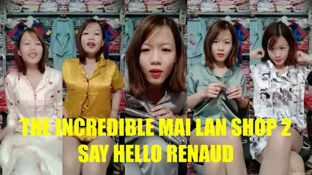THE INCREDIBLE MAI LAN SHOP (SAY HELLO RENAUD)