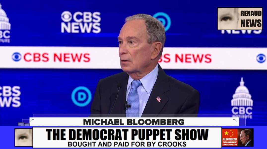 MICHAEL BLOOMBERG OPENLY ADMITTING THAT HE BOUGHT 20 DEMOCRATS IN CONGRESS