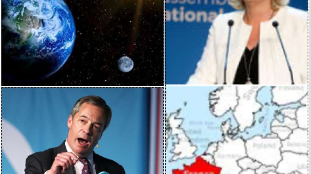 Leaders Become Stars!   Le Pen, Nigel Farage  Calling Out The Vipers Clip 4
