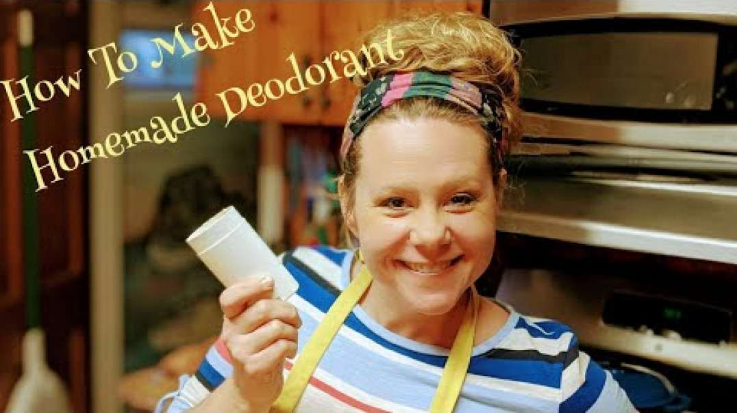 How To Make Homemade Deodorant With Leah!