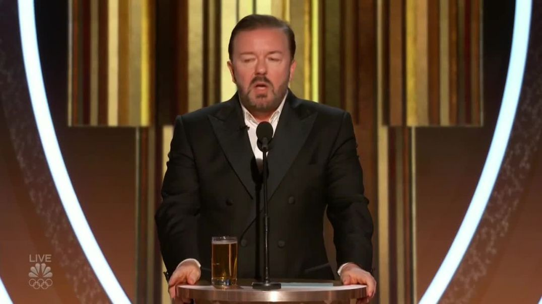 Ricky Gervais 2020 golden globe awards