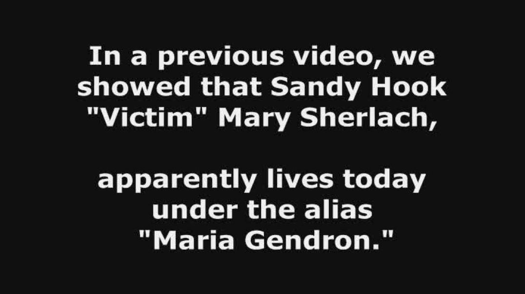 Sandy Hook 2019 - Mary Sherlach Fake Death Helped by Dead Mother