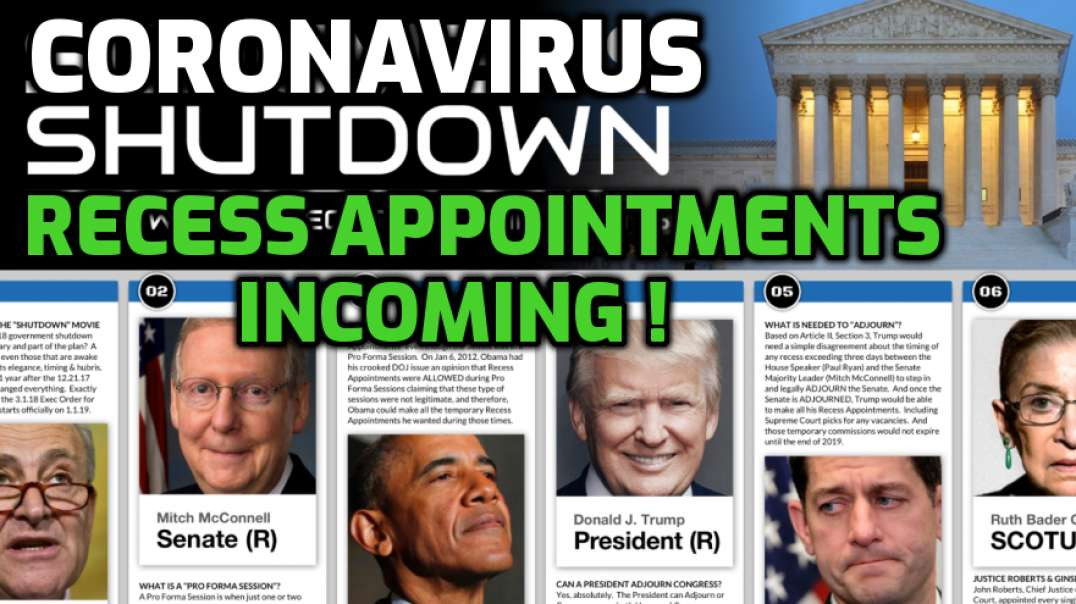 Recess Appointments Incoming!