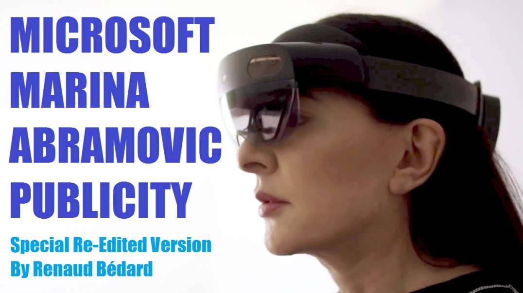 MICROSOFT & CHRISTIE'S SHOWING OFF THEIR TRUE SATANIC COLOR WITH MARINA ABRAMOVIC