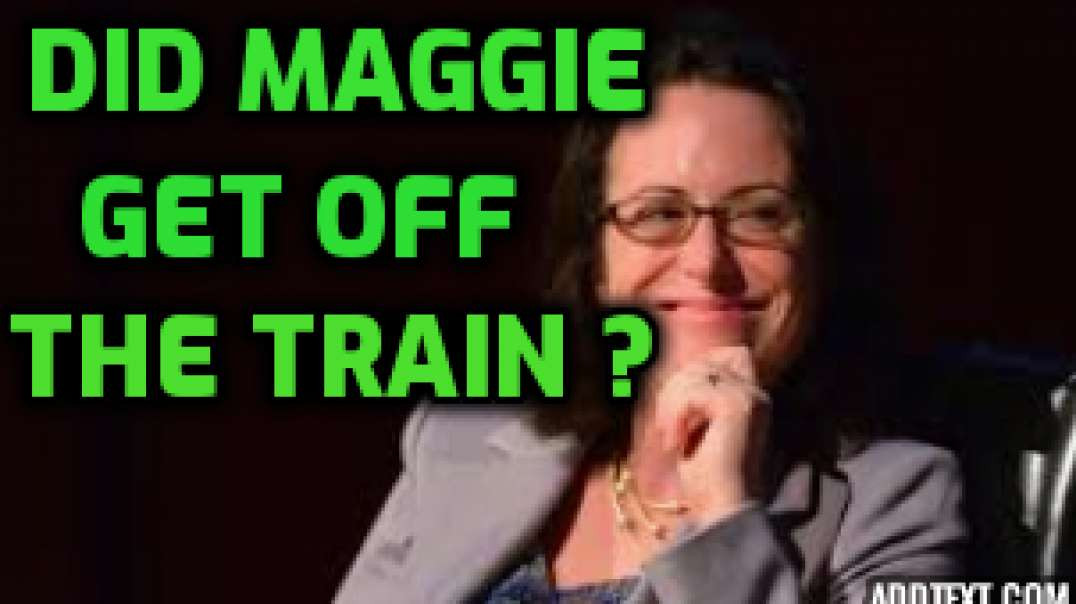 Did Maggie Haberman Deboard the Train?