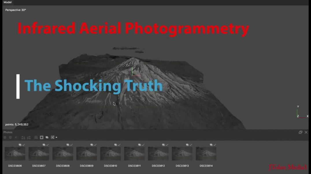 Epic Infrared Aerial Photogrammetry