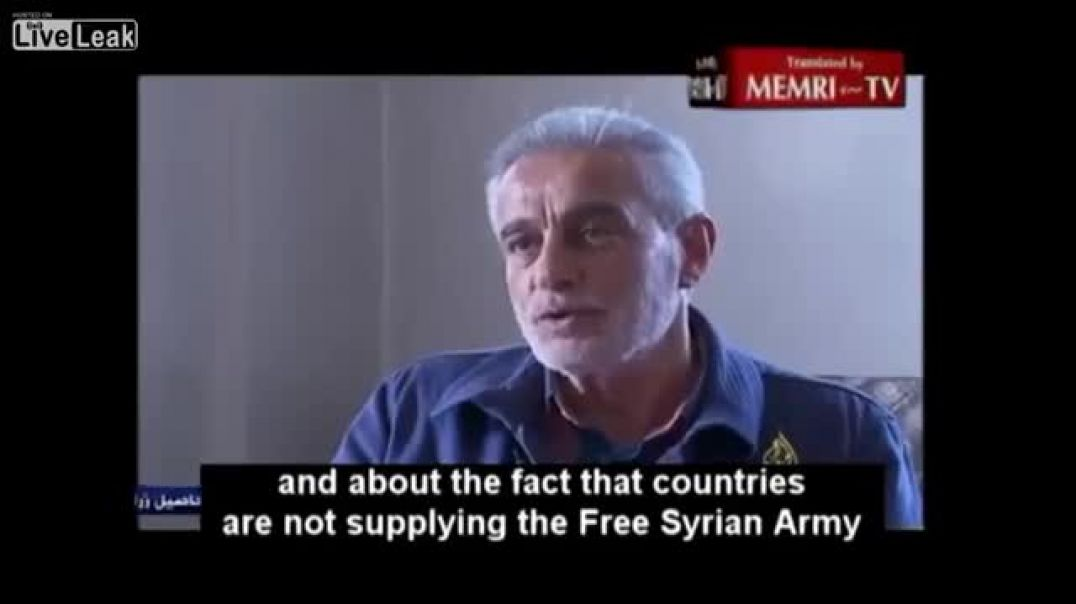 (2013) FSA General Gives Int'l Community One Month to Provide Anti Tank, Anti Aircraft Weapons