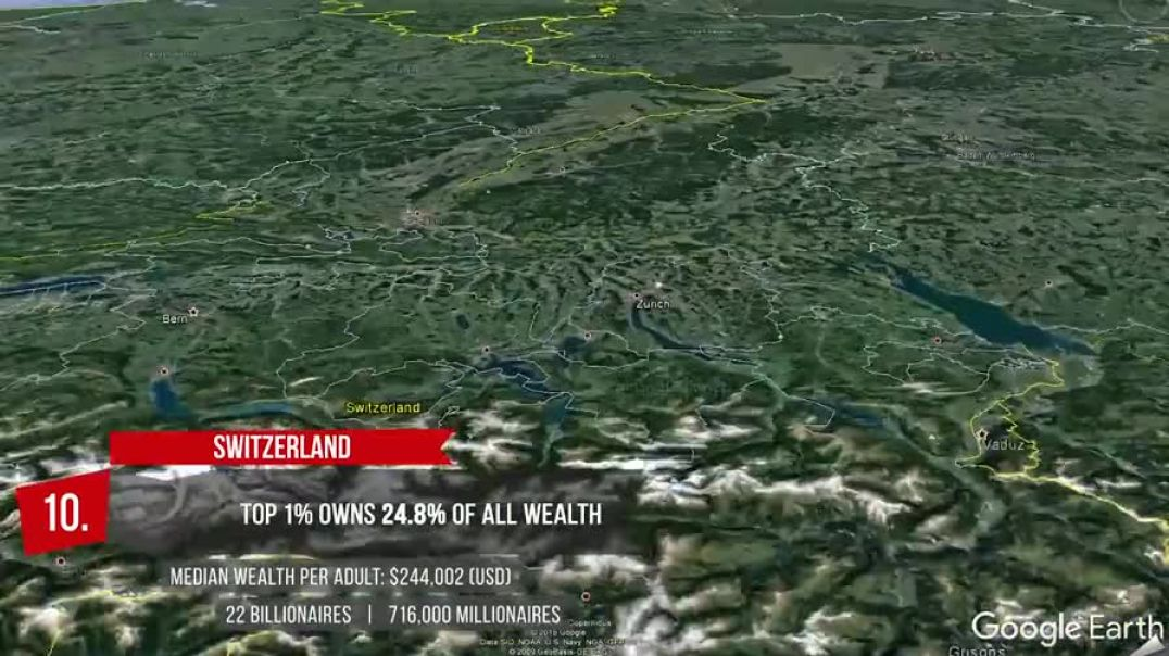 (o|o) TOP 10 COUNTRIES LOWEST 1% WEALTH SHARE