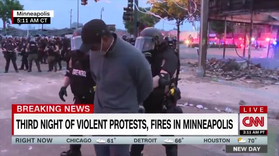 CNN reporter arrested live on air