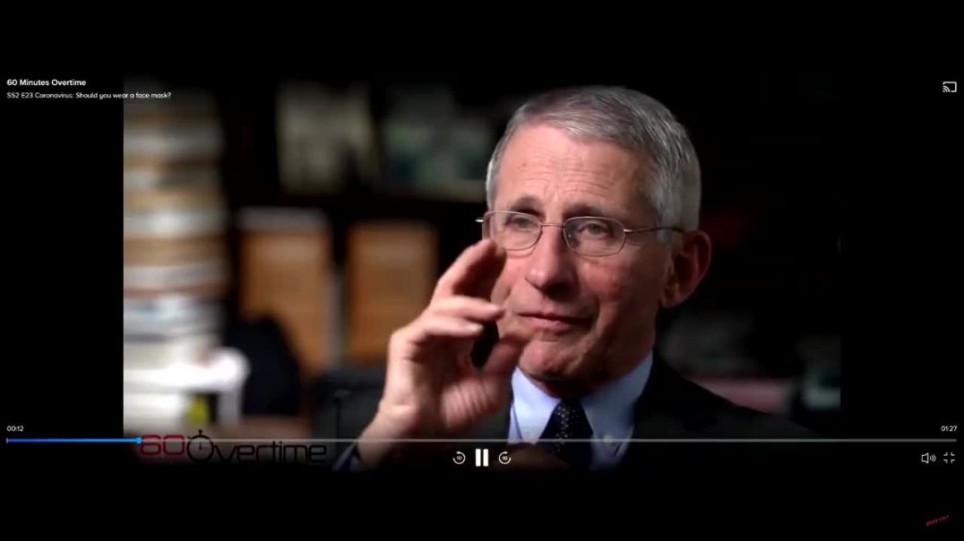 Fauci: Masks harmful/unessential (5/8/20)