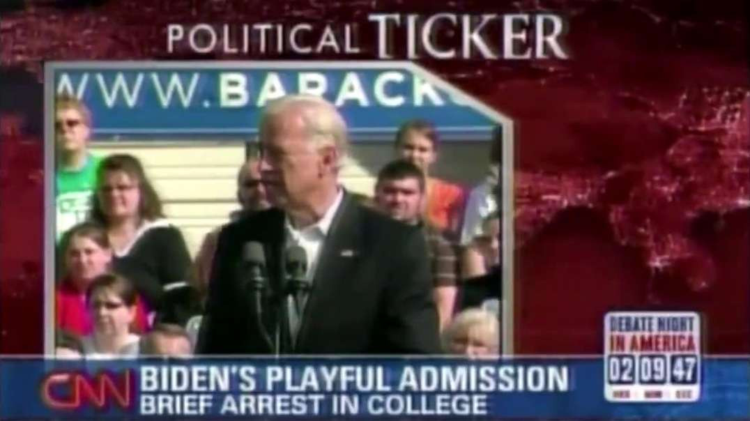 JOE BIDEN ARRESTED FOR STALKING YOUNG WOMEN AND TRESPASSING