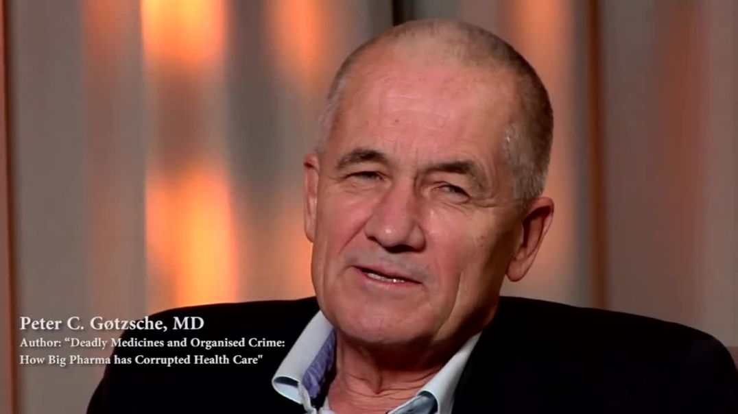 Dr Peter Gøtzsche exposes big pharma as organized crime