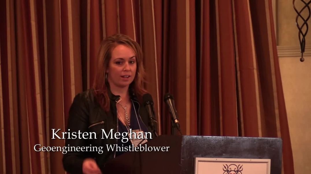 Kristen Meghan, Geoengineering Whistleblower speaks at the Save LI Forum (2014)