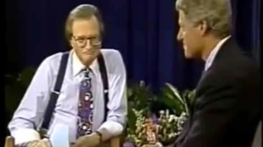 "Larry King caught on open mic to Bill Clinton: Ted Turner ""would serve you"""
