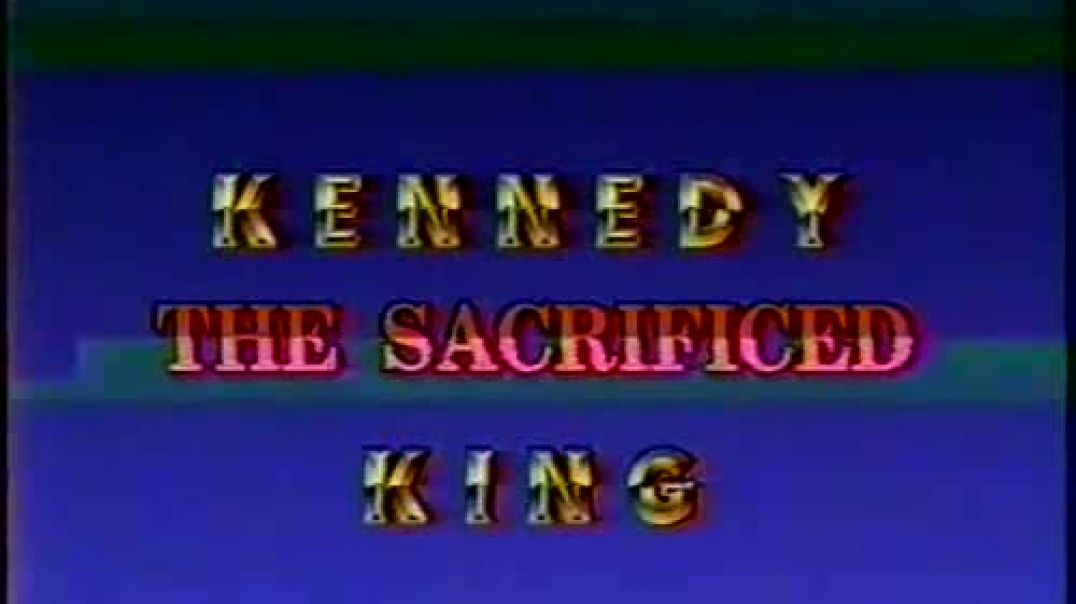 William Cooper - Kennedy - The Sacrificed King