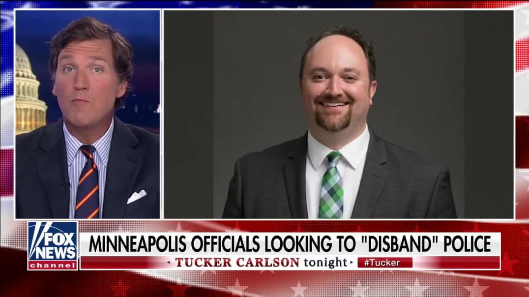Tucker: They are seeking control of the entire Country.