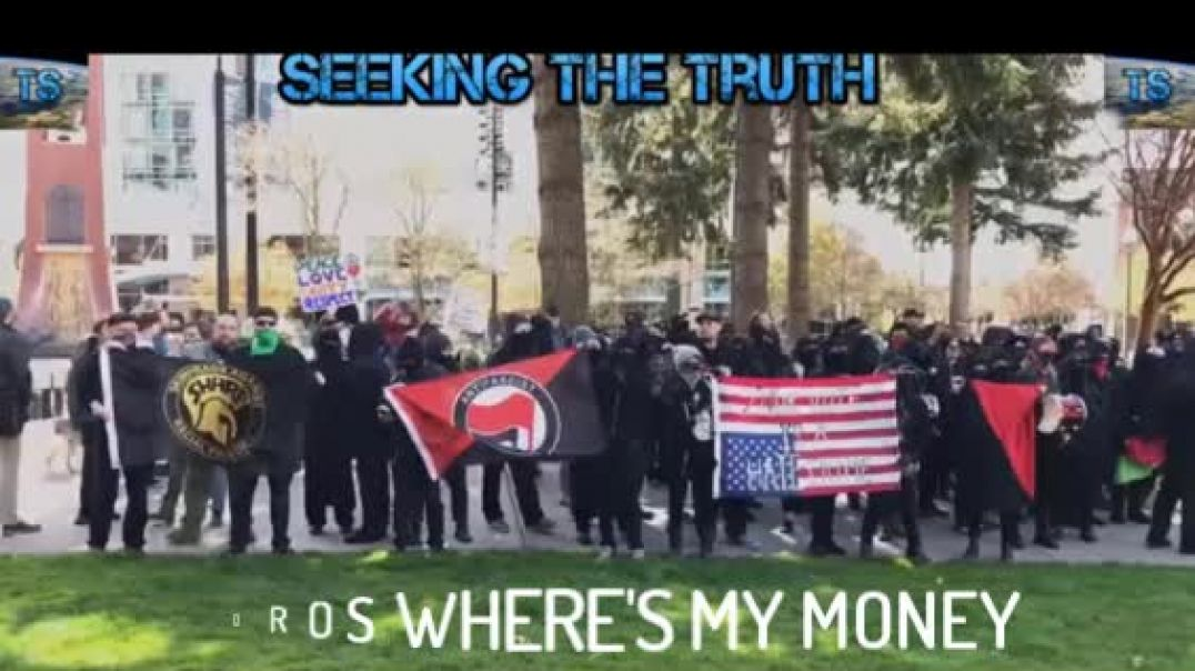 In 10 Seconds We Will Show U WHO Is Behind ANTIFA/ Out Of Their Own MOUTHS!