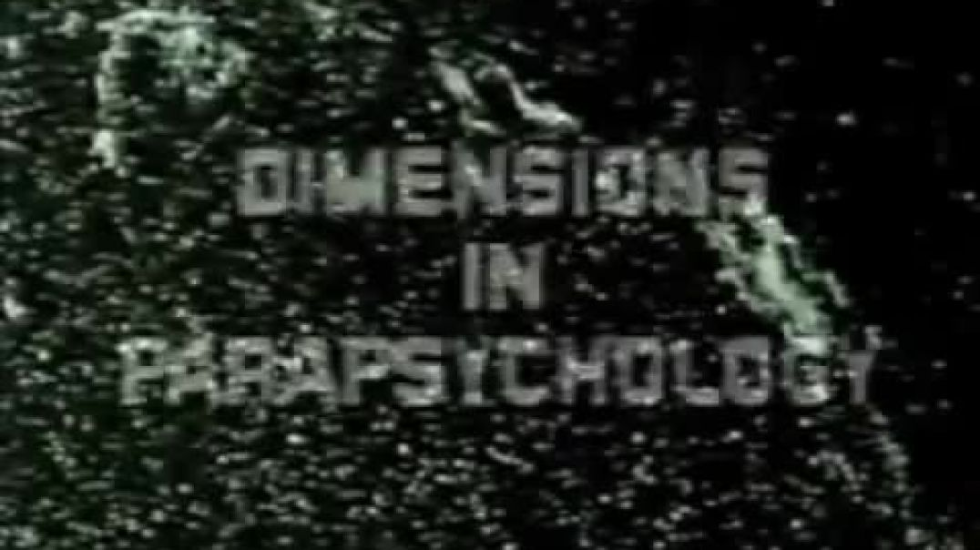 William Cooper - Dimensions in Parapsychology (1991)