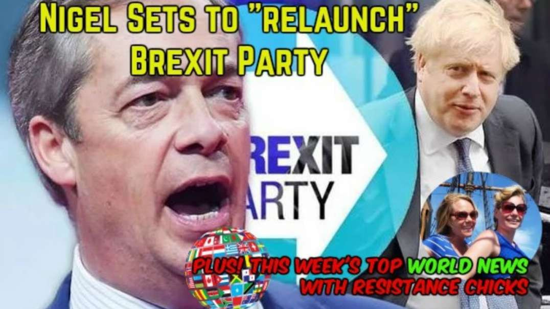 Nigel Sets To Relaunch BREXIT Party! Plus Top EU-UK News 6-14-2020