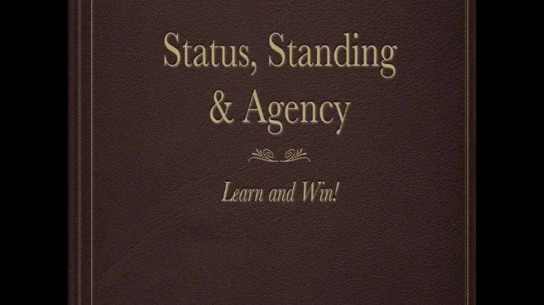 [MIRRORED] Win in Court - Status, Standing, and Agency