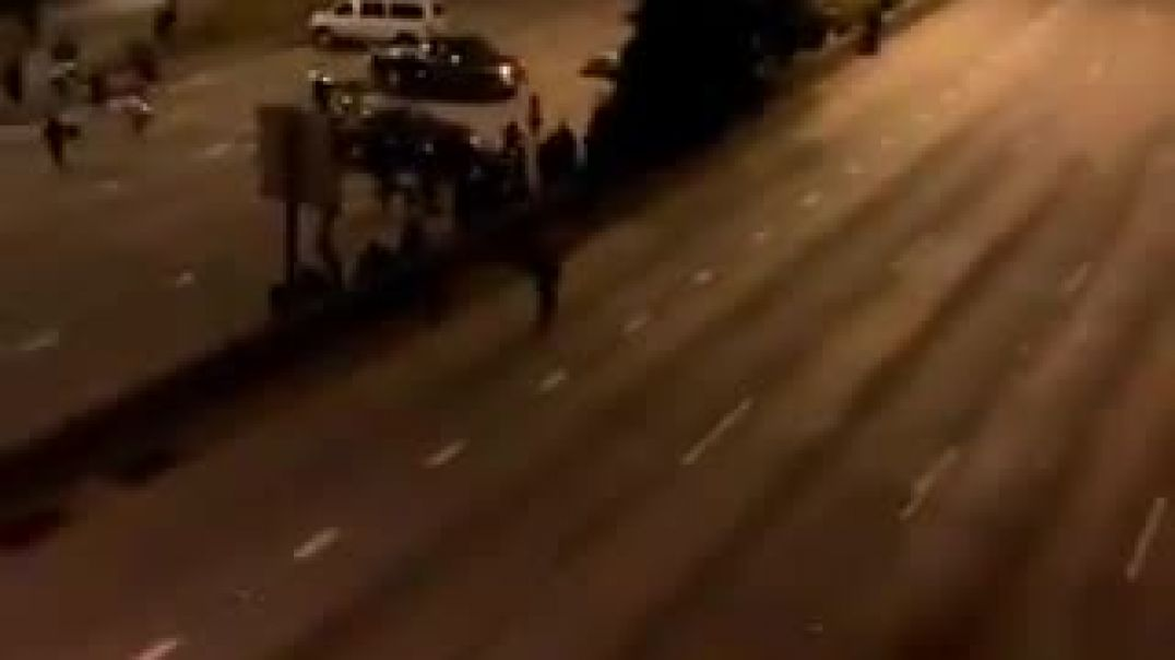 Two Seattle protesters just got run over