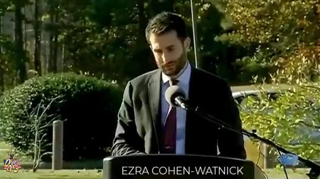 EZRA COHEN WATNIK - If you had any doubt about The Plan or what's happening just watch this cli